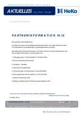 Partnerinformation 01.12