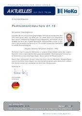 Partnerinformation 01.15