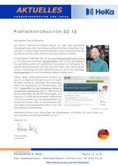 Partnerinformation 02.16
