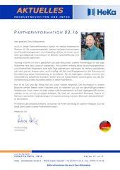 Partnerinformation 03.16