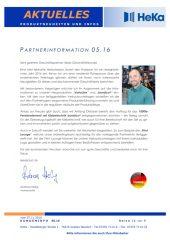 Partnerinformation 05.16