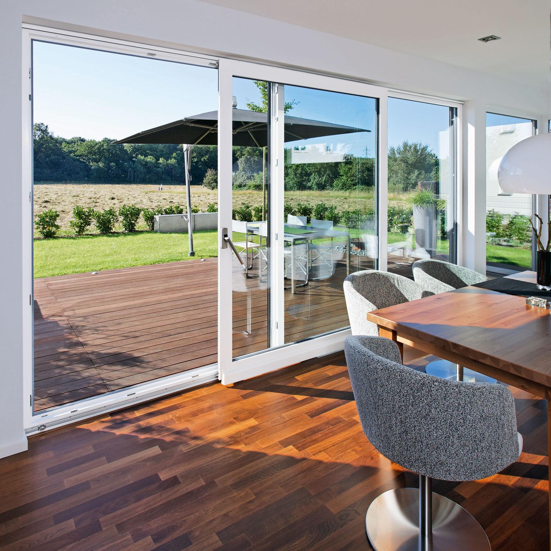 Terrassenturen Schiebe Und Faltschiebeanlagen Heka Fenster Turen