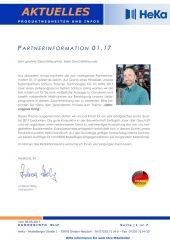 Partnerinformation 01.17