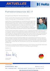 Partnerinformation 03.17