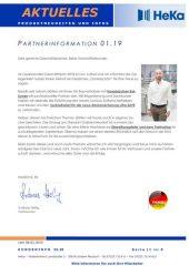 Partnerinformation 01.19