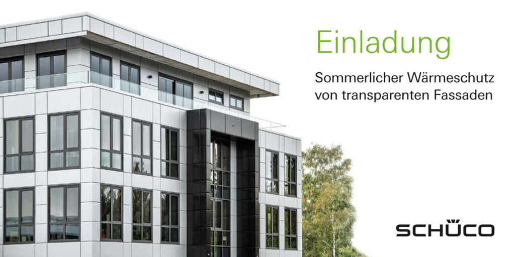 Wärmeschutz von transparenten Fassaden