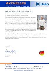 Partnerinformation 3.19