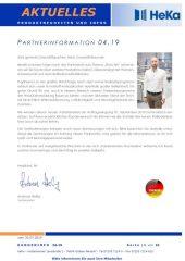 Partnerinformation 4.19