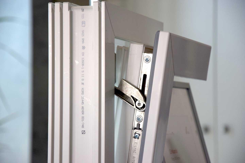 Kleines Bauteil, große Wirkung: HeKa-Fenster mit KippSi-Verschluß erfüllen auch in Kippstellung einen sehr hohen Standard bei der Einbruchhemmung.