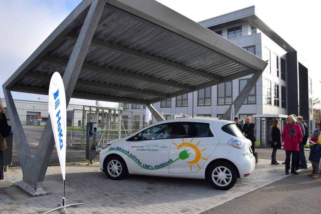 Infos zur Photovoltaikanlage bei HeKa