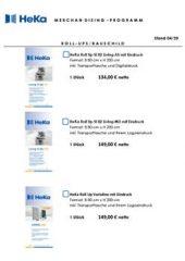 HeKa Merchandising Programm Muster